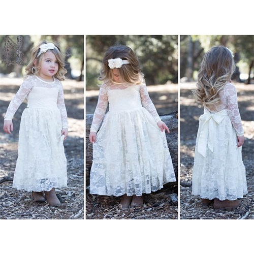 4d46f59e0f87 Baby White Net Frock with Bow - Faash Wear